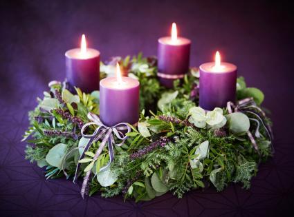 Advento vainiko žvakė